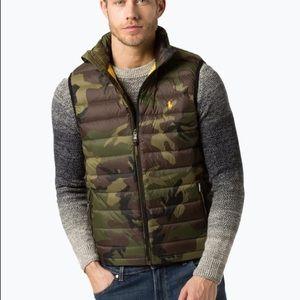 Polo Ralph Lauren Camo Camouflage Puffer Vest